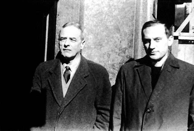 Witold Gombrowicz y Janusz Pasierb.